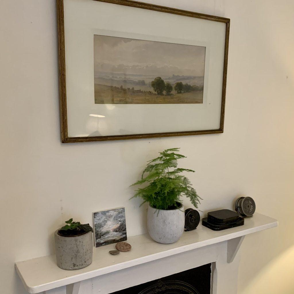Mantle Piece Master Bedroom - Primrose Cottage Exmoor