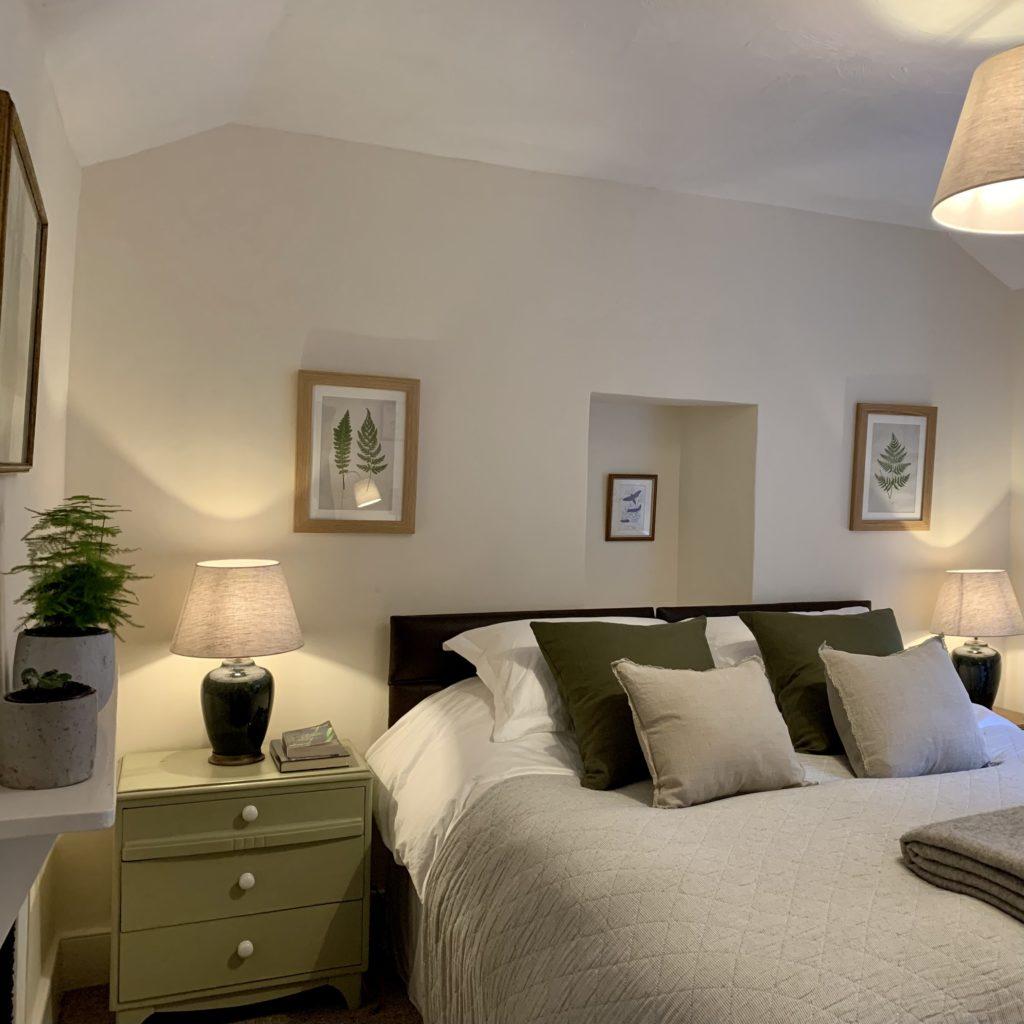 Master Bedroom - Primrose Cottage Exmoor