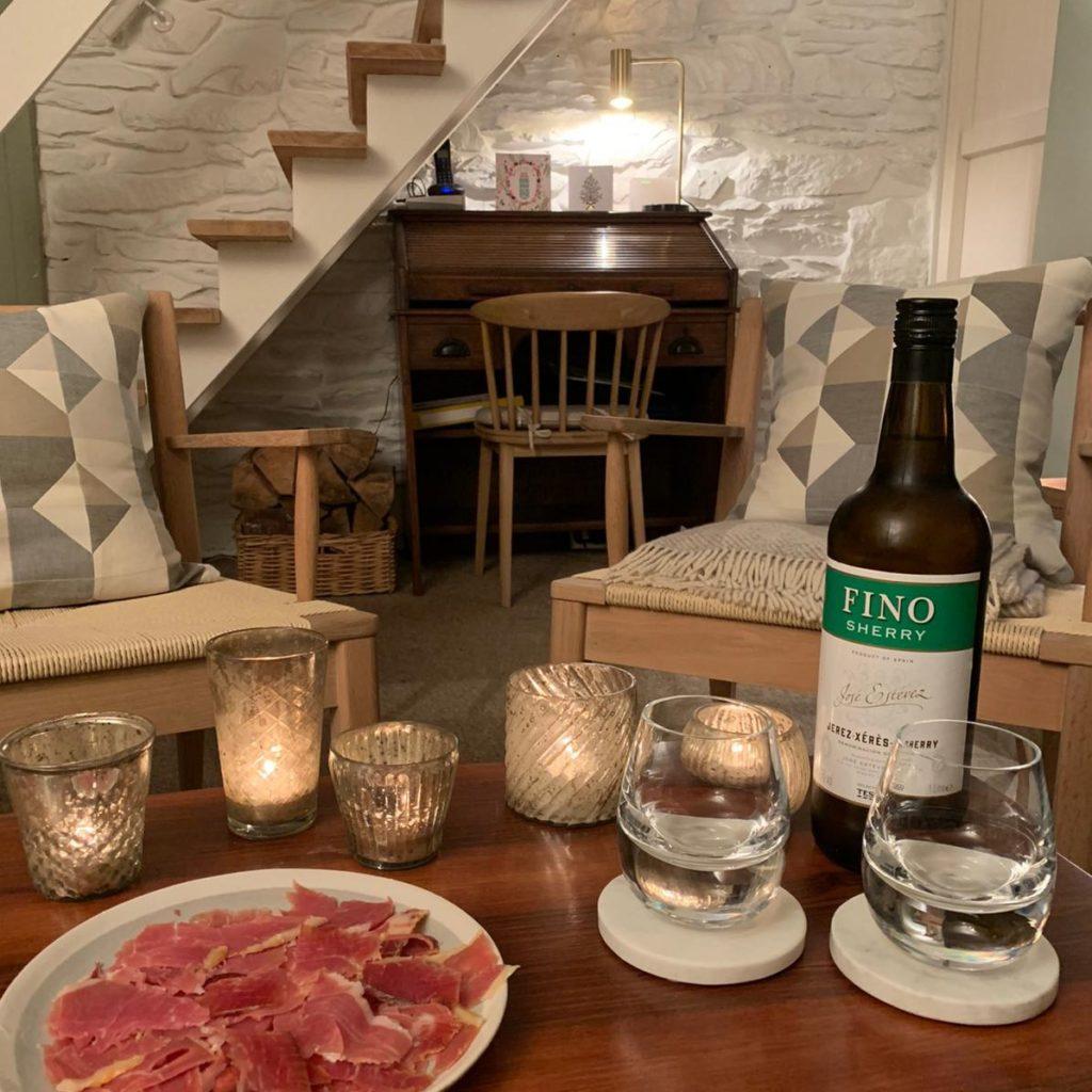 Sherry and Serrano Living Room - Primrose Cottage Exmoor